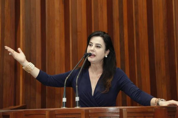 Mara reafirma disposição em disputar a Prefeitura de Campo Grande no próximo ano. - Crédito: Foto: Divulgação