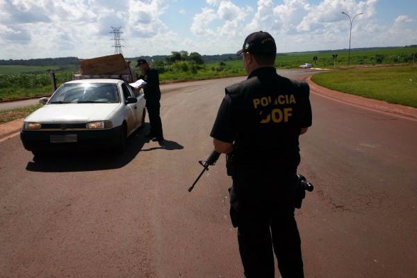 Uma das operações do Departamento no ano, 'Boas Festas' visa dar tranquilidade à fronteira de Mato Grosso do Sul. - Crédito: Foto: Divulgação/DOF