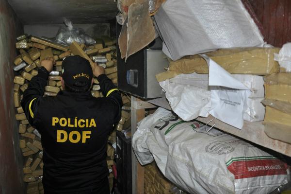 Departamento de Operações de Fronteira faz apreensões de mais de 45 toneladas de maconha. - Crédito: Foto: Divulgação