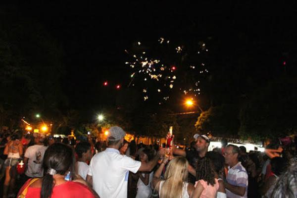 Show e queima de fogos marcarão virada do ano. - Crédito: Foto: Divulgação