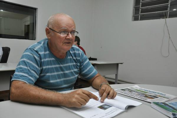 João Frazão é o presidente da Guarda Mirim em Dourados. - Crédito: Foto: Arquivo