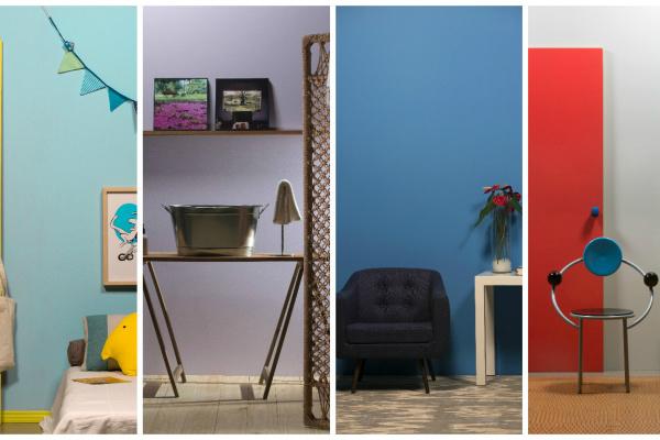 Utilização de cores fortes em ambientes internos depende também da qualidade da tinta escolhida na hora da compra. - Crédito: Foto: Divulgação