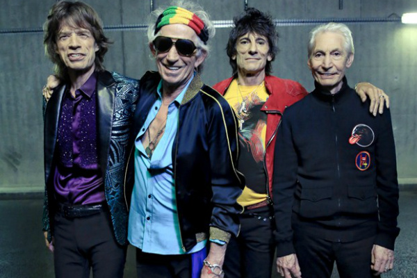 Primeiro disco de estúdio da lendária banda Rolling Stones chega às lojas este ano. - Crédito: Foto: Divulgação
