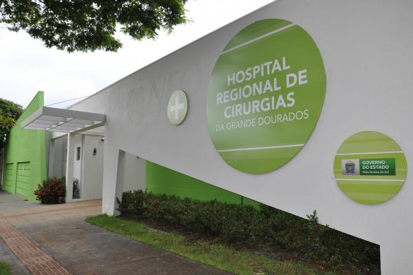 Hospital Regional de Cirurgias da Grande Dourados realizou 62 cirurgias em menos de 20 dias. - Crédito: Foto: Hedio Fazan