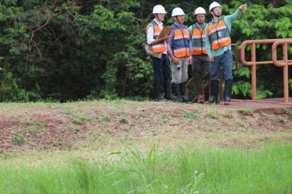 Técnicos dão continuidade à fiscalização ambiental em barragens de minério de Ladário e Corumbá. - Crédito: Foto: Lécio Aguilera