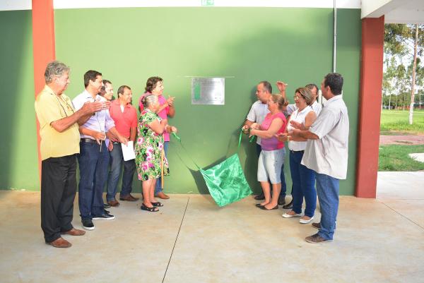 Prefeitura de Bataguassu entrega Centro de Eventos. -