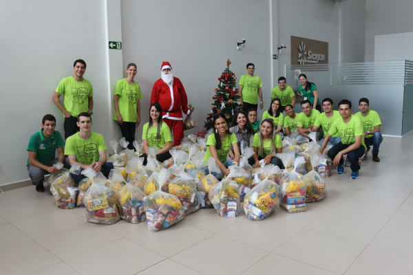 Sicredi arrecadou donativos entre associados e colaboradores. - Crédito: Foto: Sicredi