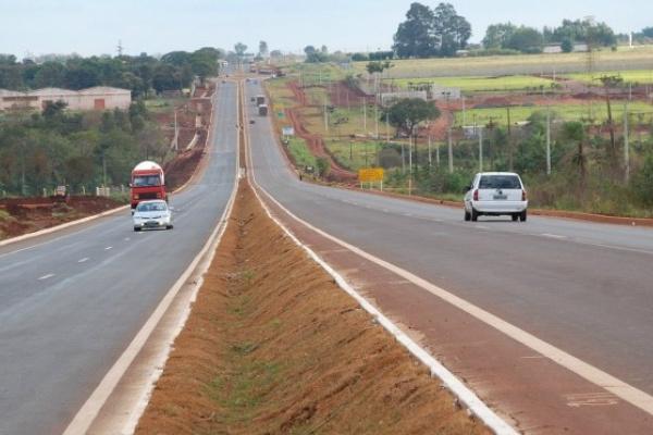 BR-163 cruza 21 municípios do estado de Mato Grosso do Sul. - Crédito: Foto: Divulgação