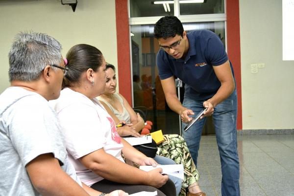 Agentes de saúde e endemias fazem curso em Bataguassu. - Crédito: Foto: Assessoria
