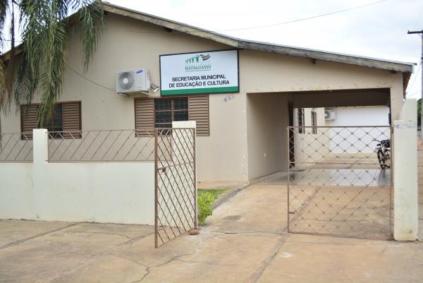 Semec fica em frente à Escola Municipal Marechal Rondon. - Crédito: Foto: Micael Nuness