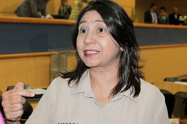 Luiza Ribeiro descarta sair candidata a vice-prefeita. - Crédito: Foto: Divulgação