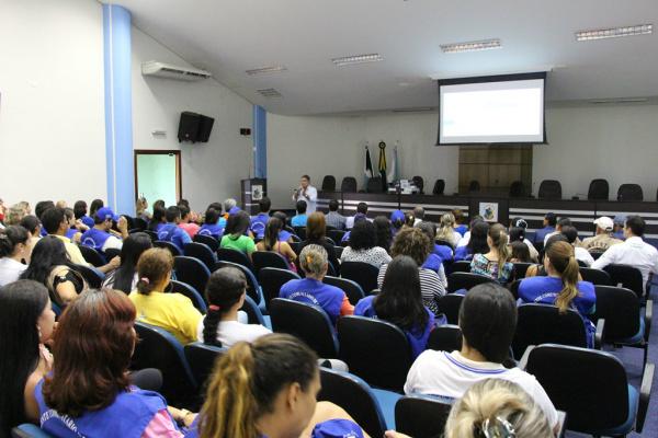 Agentes são capacitados em Maracaju para combater dengue. - Crédito: Foto: Divulgação