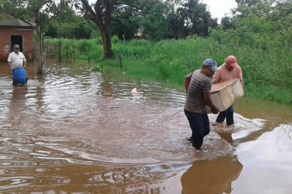 Vinte e quatro cidades do Estado já decretaram situação de emergência por causa das chuvas. - Crédito: Foto: Divulgação
