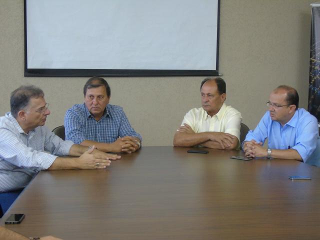 Vinda da Caravana foi definida  ontem em reunião na Prefeitura. - Crédito: Foto: Divulgação