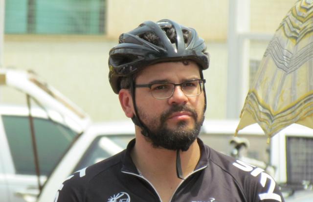 Mauricio apoia uso de bicicletas e a mobilidade urbana de Dourados. - Crédito: Foto: Divulgação