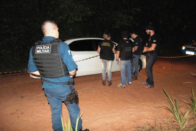 Corpo foi encontrado em estrada vicinal na cidade do Bolsão. - Crédito: Foto: Dahorabataguassu