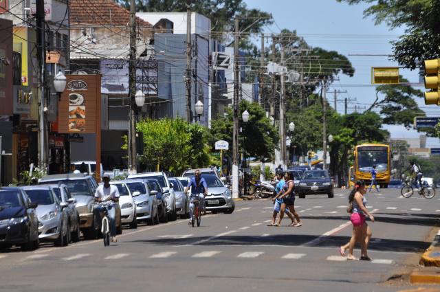 Avenida Marcelino registra mais acidentes com mortes por conta do maior fluxo de usuários. - Crédito: Foto: Hedio Fazan