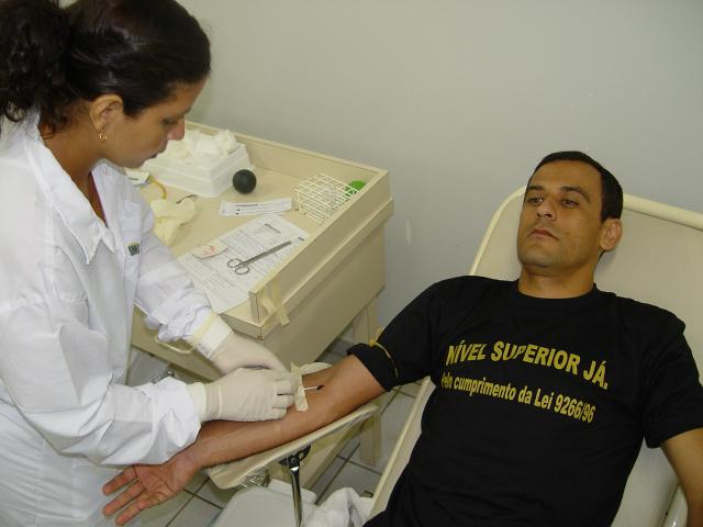 Doadores de sangue serão atendidos no sábado - Crédito: Foto: Hedio Fazan