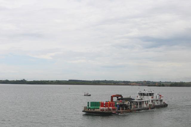 Hidrovia Tietê-Paraná teve sua navegabilidade retomada ontem - Crédito: Foto: Gilberto Marques