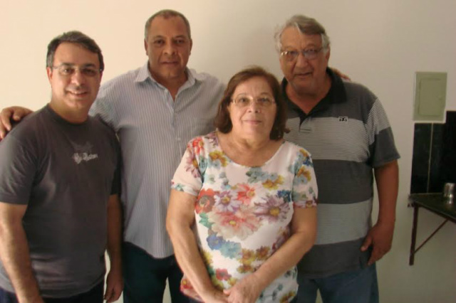 Amarildo Ricci, Silva Junior, Gilberto Orlando e Selene Roberto. - Crédito: Foto: Divulgação