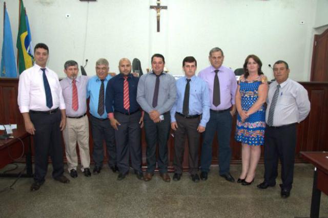 Câmara de Vereadores do município de Laguna Carapã devolveu R$ 30 mil à prefeitura. - Crédito: Foto: Assessoria de Laguna Carapã