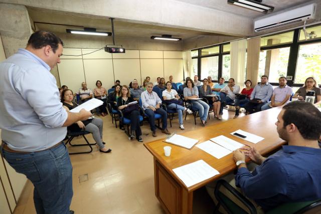 Coordenadoria reuniu 40 gestores do Programa Governo Consciente. - Crédito: Foto: David Majella