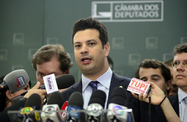 Leonardo Picciani diz que  o líder deve expressar a posição da maioria. - Crédito: Foto: Gustavo Lima/Câmara dos Deputados