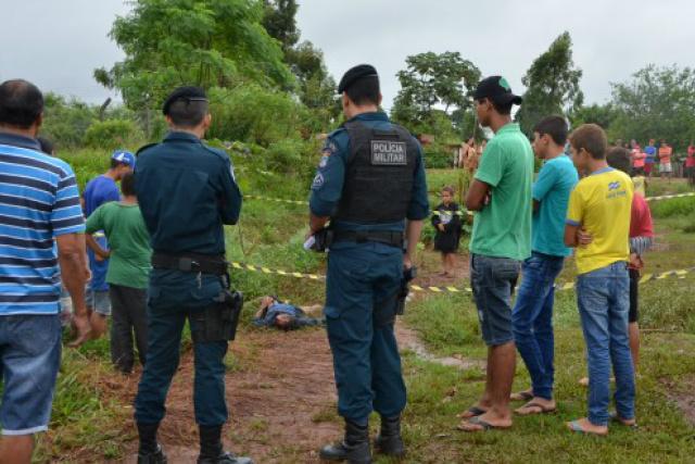 Na região conhecida como 'Brejão', jovem foi assassinado. - Crédito: Foto: Poranews