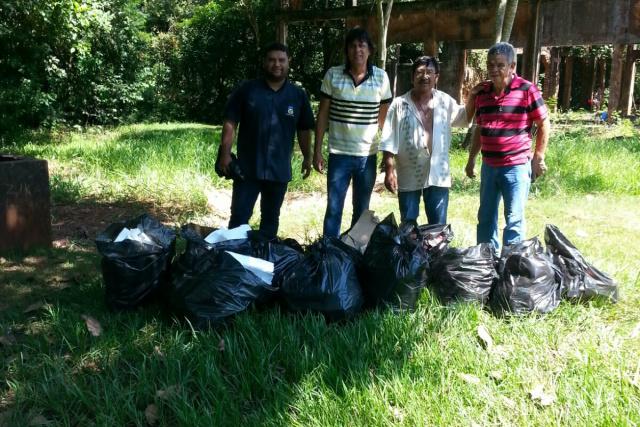 Secretaria de Cultura é uma das que adotaram medidas preventivas, recolhendo lixo  na Usina Velha. - Crédito: Foto: Divulgação