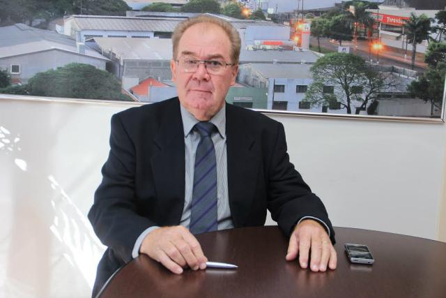 Presidente Idenor Machado homologou o resultado do concurso. - Crédito: Foto: Thiago Morais