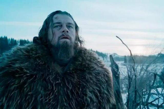 """Em """"O Regresso"""", Leonardo DiCaprio, indicado ao Oscar de ator, vive Hugh Glass, um personagem verídico do século 19. - Crédito: Foto: Divulgação"""