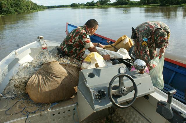 """Polícia Militar Ambiental deu início ontem, a partir 12h, a """"Operação Carnaval"""" nos rios. - Crédito: Foto: Hedio Fazan"""