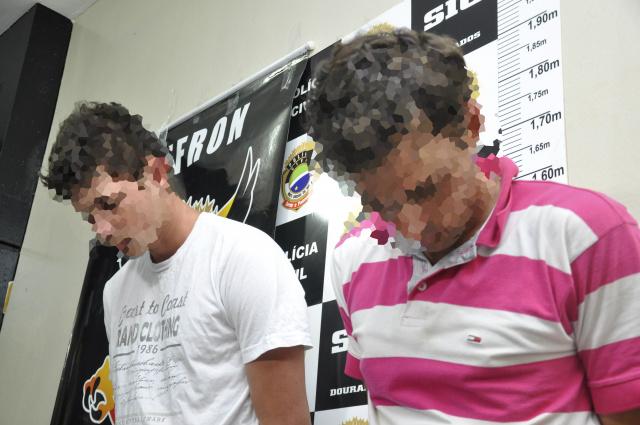 Delegado Adilson Stiguivitis disse que a intenção do grupo era roubar a vítima a mando de mentor. - Crédito: Foto: Divulgação