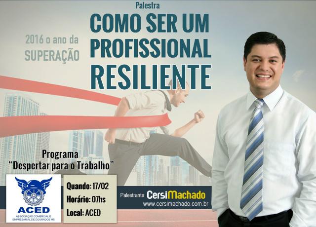 Cersi Machado irá abrir programação do Despertar. - Crédito: Foto: Divulgação