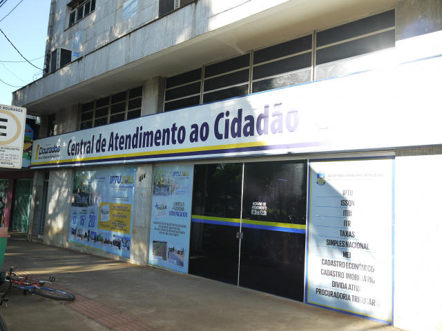 Central do Cidadão vai funcionar das 12h às 17h na quarta. - Crédito: Foto: Divulgação