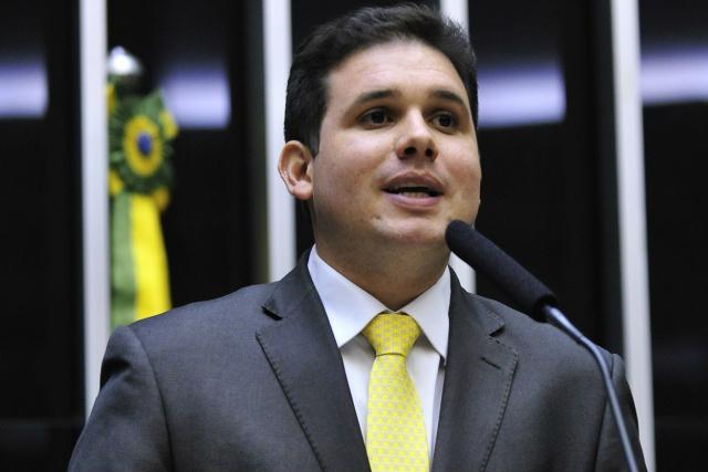 Hugo Motta busca apoio das bancadas regionais para comandar o PMDB. - Crédito: Foto: Gabriela Korossy/Câmara dos Deputados