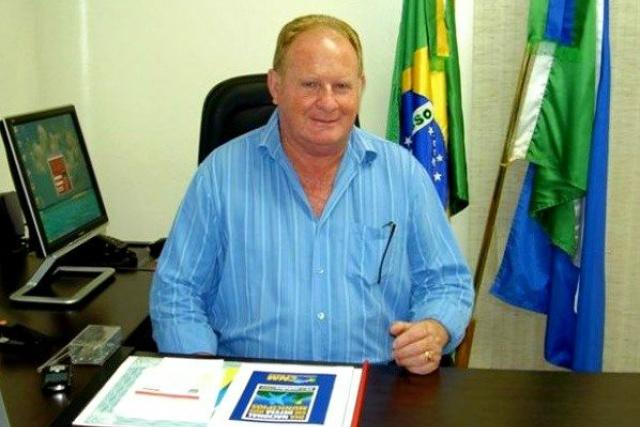 Prefeito do município de Douradina,  Darcy Freire. - Crédito: Foto: Divulgação