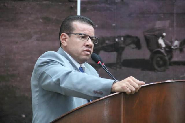 Vereador Pedro Pepa. - Crédito: Foto: Thiago Morais