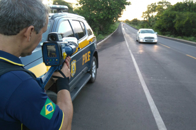 Operação da PRF em Mato Grosso do Sul registrou mortes durante o período de carnaval. - Crédito: Foto: Divulgação/PRF
