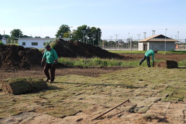 Prefeitura melhora Parque Ambiental onde será sediada a festa. - Crédito: Foto: Divulgação
