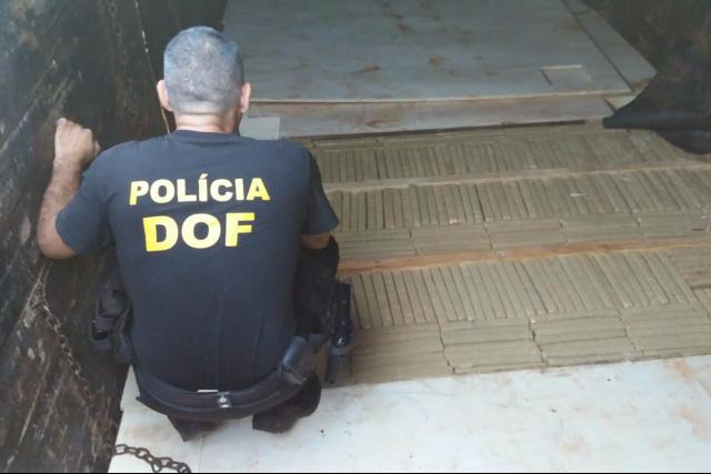 Presença do DOF na fronteira de MS teve um acréscimo significativo de apreensões em 2016. - Crédito: Foto: Divulgação/DOF
