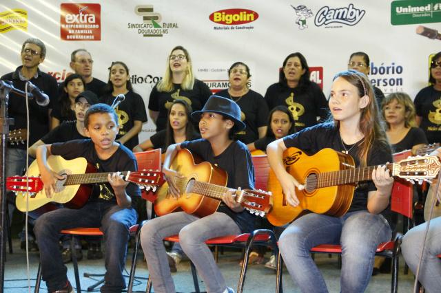 Ano passado 60 alunos participaram do projeto. - Crédito: Foto: Divulgação