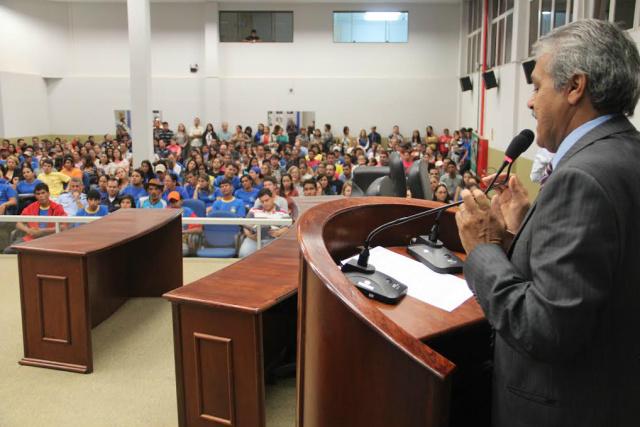 Vereador Cido Medeiros destaca trabalhos da Câmara. - Crédito: Foto: Divulgação