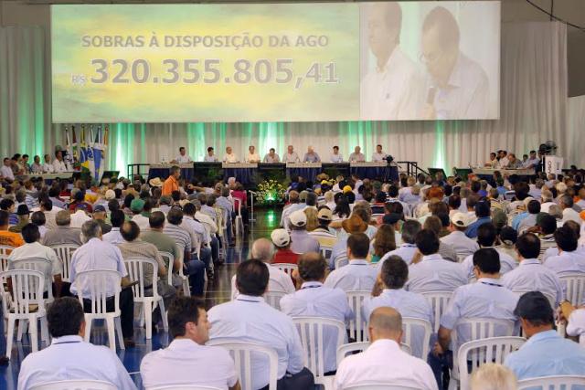 O valor das sobras foi aprovado em Assembleia Geral Ordinária realizada na última sexta. - Crédito: Foto: Divulgação