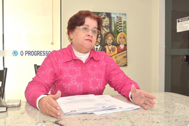 Presidente do Conselho, Berenice de Oliveira Machado. - Crédito: Foto: Divulgação