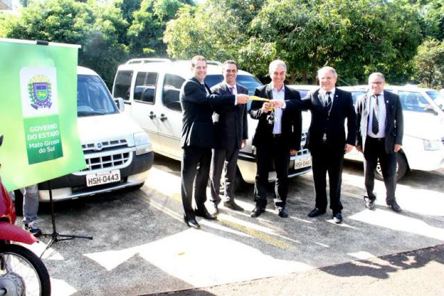 Azambuja, Maluf e o procurador-geral de Justiça Humberto Brites. - Crédito: Foto: Chico Ribeiro