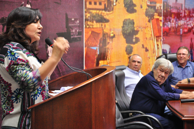 Délia Razuk deixa oficialmente o PMDB em ofício encaminhado ao Diretório Municipal do partido. - Crédito: Foto: Divulgação
