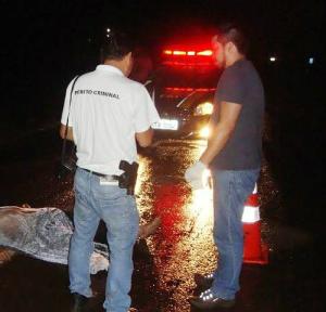 Ciclista morreu atropelado por veículo próximo a Rio Brilhante. - Crédito: Foto: Cido Costa/Dourados Agora