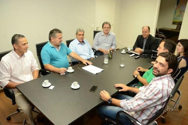 Lideranças do PMDB em MS se reuniram no começo da semana, em Campo Grande. - Crédito: Foto: Divulgação