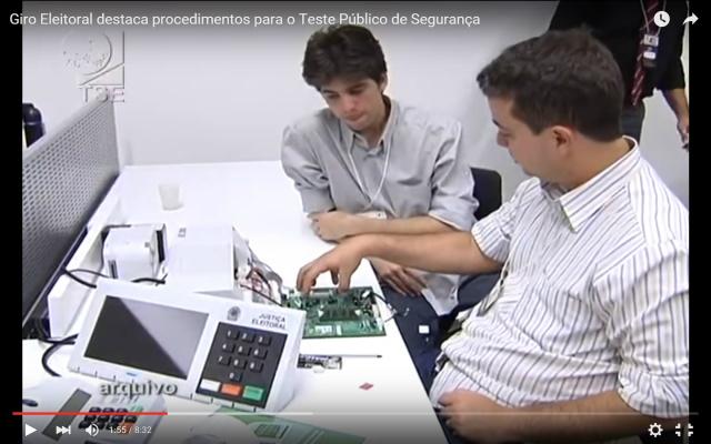 Uma das preocupações da Justiça Eleitoral é aprimorar o sistema eletrônico de votação. - Crédito: Foto: Reprodução